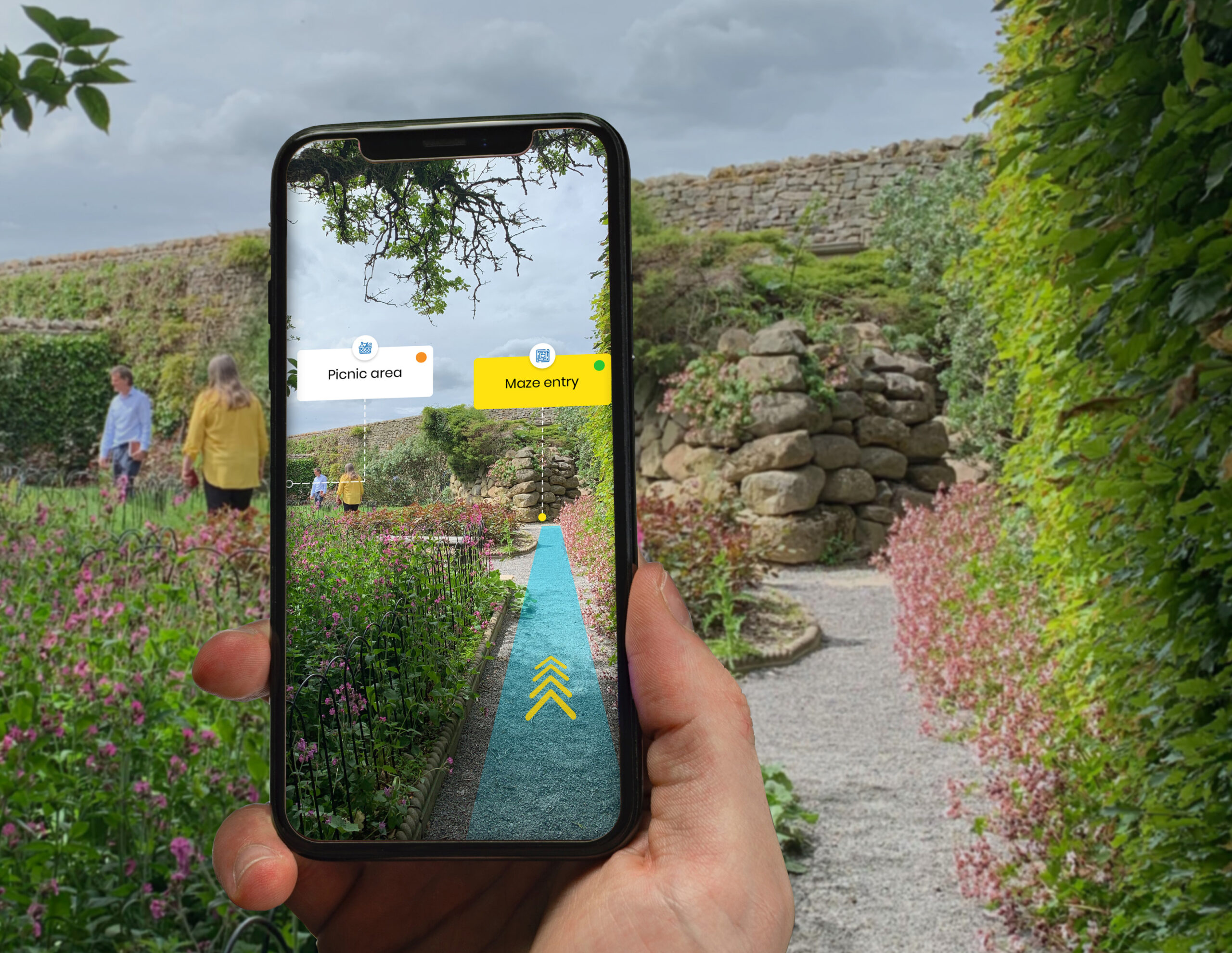 Augmented reality supporting tourism recovery
