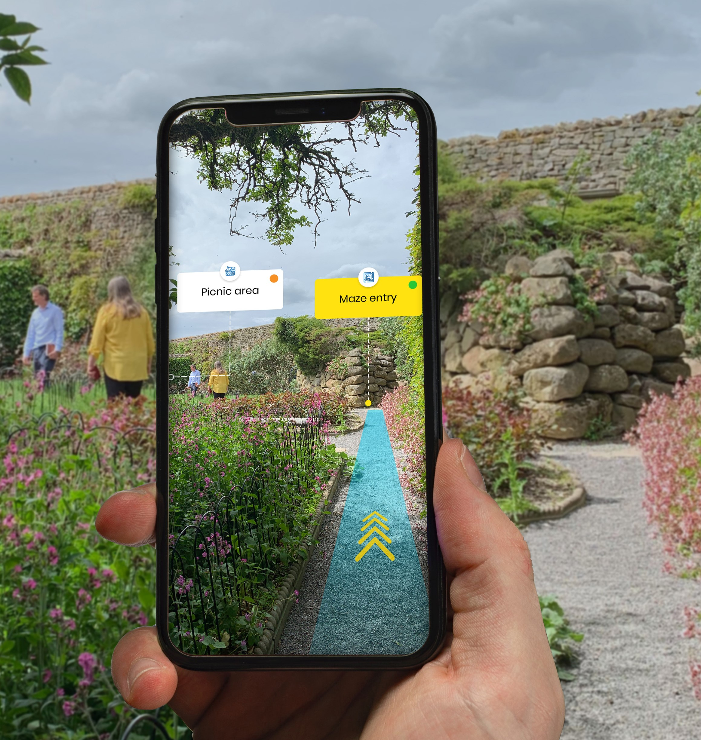 Augemented reality supporting North Yorkshire tourism recovery